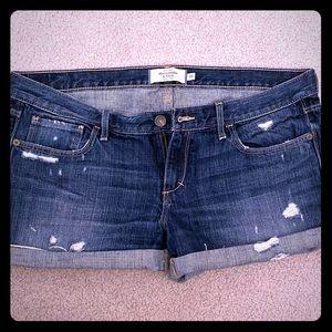 A&F Jean Shorts 10